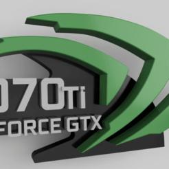 Download free 3D printer model nVidia GPU support GTX1070 Ti, corristo25