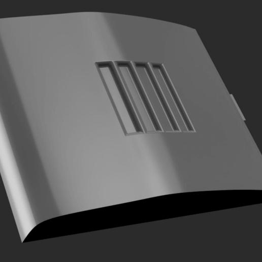 2.png Télécharger fichier STL gratuit Remplacement du clapet de batterie pour Yongnuo YN460-II • Objet pour imprimante 3D, corristo25