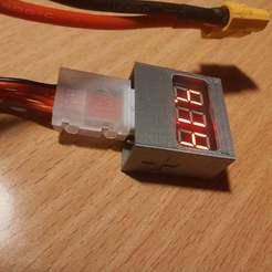 Télécharger fichier STL gratuit L'affaire du testeur LiPo • Plan imprimable en 3D, corristo25