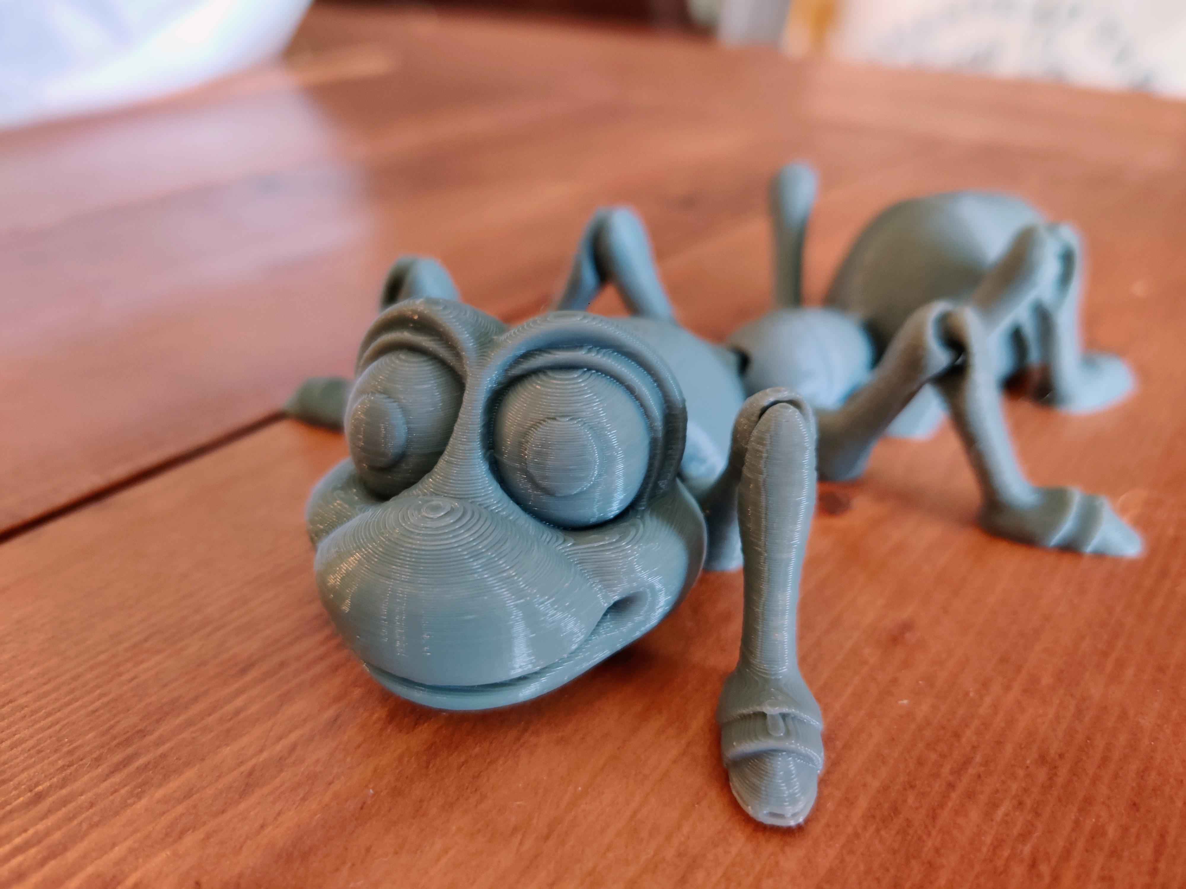 Télécharger fichier STL Mignonne fourmi Flexi imprimée sur place • Modèle à imprimer en 3D, 98sonomaman