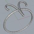 PPA_Aries_Shaded.PNG Download free STL file Aries Ring • 3D printing template, PlatformPrintingAustralia