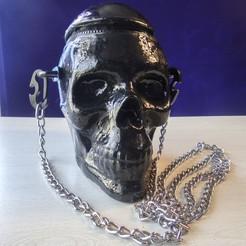 portada_5.jpg Télécharger fichier STL Sac à dos Crâne Style Gothique Steampunk Sac à dos Crâne Rétro moderne Sac à dos Crâne Vintage Mold • Objet pour imprimante 3D, Escraphy