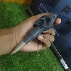 102563044_158750755651716_5136966329818939392_n.jpg Télécharger fichier STL gratuit Pendentif crâne de balle • Modèle à imprimer en 3D, puskar