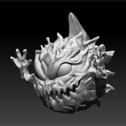 BombFF.jpg Download free STL file Final Fantasy Bomb • Model to 3D print, Irrational_Scum