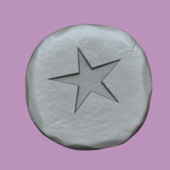astral 1.png Download STL file Astral Rune - Runescape - STL Keychain • 3D printer object, gui_sommer