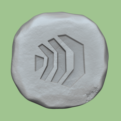 armardyl 1.png Download STL file Armadyl Rune - Runescape - STL Keychain • 3D print object, gui_sommer
