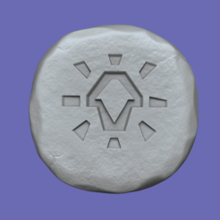 body 1.png Download STL file Body Rune - Runescape - STL Keychain • Object to 3D print, gui_sommer