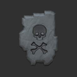 04.png Download OBJ file Tibia SD - Sudden Death Rune CGI or Printable • 3D printable template, gui_sommer