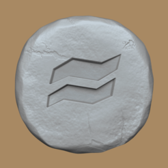 earth 1.png Download free STL file Earth Rune - Runescape - STL Keychain • 3D printer model, gui_sommer