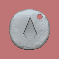 blood kc 1.png Download STL file Blood Rune - Runescape - STL Keychain • 3D printing object, gui_sommer