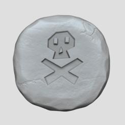 death 1.png Télécharger fichier STL Rune de la mort - Runescape - Porte-clés STL • Plan imprimable en 3D, gui_sommer