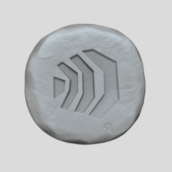 air 1.png Download STL file Air Rune - Runescape - STL Keychain • 3D print design, gui_sommer