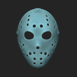 render 01 nc.png Download STL file Jason Mask - Friday the 13th • 3D printer object, gui_sommer