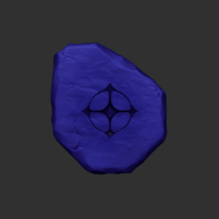 19.png Download OBJ file Tibia UH - Ultimate Healing Rune CGI or Printable • 3D print object, gui_sommer