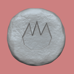fire 1.png Download free STL file Fire Rune - Runescape - STL Keychain • 3D printer template, gui_sommer