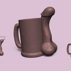 Imprimir en 3D Taza de paja - Funny Cup, gui_sommer