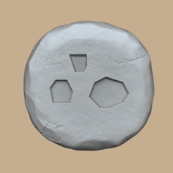 dust 1.png Download STL file Dust Rune - Runescape - STL Keychain • 3D printing object, gui_sommer