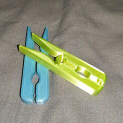 IMG_20210122_184029.jpg Télécharger fichier STL Pince à linge  • Modèle pour imprimante 3D, paulopro