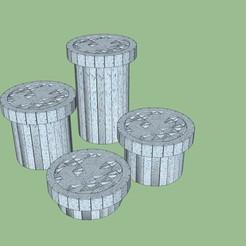 caja.jpg Download STL file box 6, 11, 16, 24cm • Template to 3D print, fedepascotto