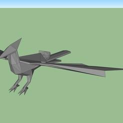 ave.jpg Télécharger fichier STL Oiseau low poly • Objet pour impression 3D, fedepascotto