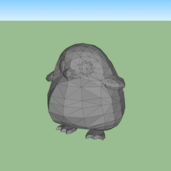 Download 3D printing files Penguin, fedepascotto