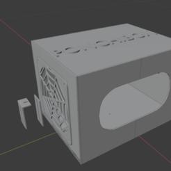 ponchibox.png Télécharger fichier STL Boîtier de PC Rack 2 de jeux vidéo Boîtier de loisirs • Objet pour impression 3D, dulce-enmascarado-mascara-dulce