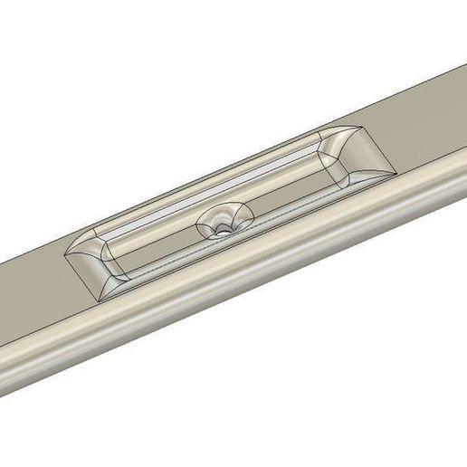 cabinet_door_handle_iso_view_V2.JPG Télécharger fichier STL gratuit Poignée de porte d'armoire V2 • Modèle à imprimer en 3D, timofteadrianandrei