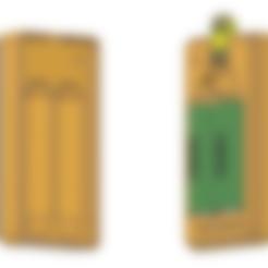 Li_Ion_18650_2S_case.obj Télécharger fichier OBJ gratuit Affaire de la batterie Li Ion 18650 2S [fichier OBJ] • Design pour imprimante 3D, timofteadrianandrei