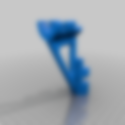 Download free 3D printing templates Corner gusset for clothes hanging bar, timofteadrianandrei