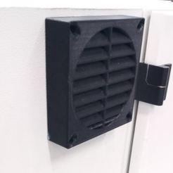 Télécharger modèle 3D gratuit Grille de ventilation directionnelle 120mm, timofteadrianandrei
