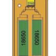 3.PNG Télécharger fichier OBJ gratuit Affaire de la batterie Li Ion 18650 2S [fichier OBJ] • Design pour imprimante 3D, timofteadrianandrei