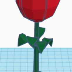 ROSA.PNG Télécharger fichier STL FLEUR DE ROSE • Modèle pour impression 3D, xortirionxae