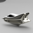 Download free STL file Spacecraft_Keychain • 3D printing design, Ivancho_D
