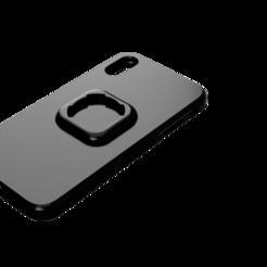 Download STL file Iphone xr cover quad lock • 3D printable design, pucciomp