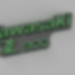Download STL file Kawasaki Z 900 keychain • 3D print object, pucciomp