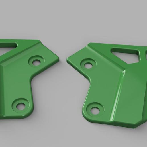 Télécharger fichier imprimante 3D Kawasaki Z 900 pieds protecteur de chevilles, pucciomp