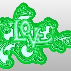 Télécharger plan imprimante 3D gatuit Amour, rudthiele
