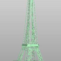Descargar diseños 3D gratis Eifel Turm, rudthiele