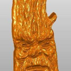 Télécharger plan imprimante 3D gatuit Holzgesicht, rudthiele