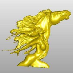 Descargar Modelos 3D para imprimir gratis Chica de los caballos, rudthiele