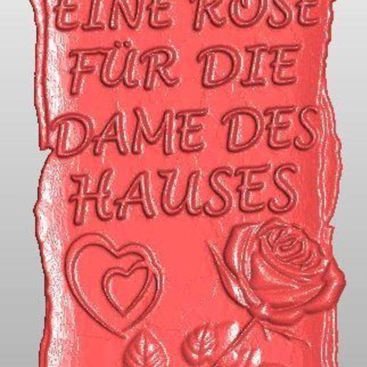 Impresiones 3D gratis eine Rose für..., rudthiele