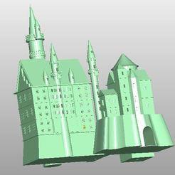 Impresiones 3D gratis Neuschwanstein, rudthiele