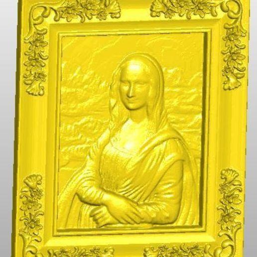 Télécharger plan imprimante 3D gatuit Mona Lisa, rudthiele