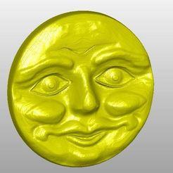 Download free 3D printer templates Gesicht, rudthiele