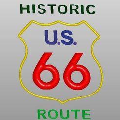 Télécharger modèle 3D gratuit Route 66, rudthiele