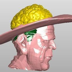 Télécharger plan imprimante 3D gatuit L'artiste Gehirn, rudthiele