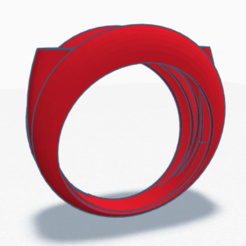 photo view.png Download STL file Special casual men's ring • 3D print model, loukas2007