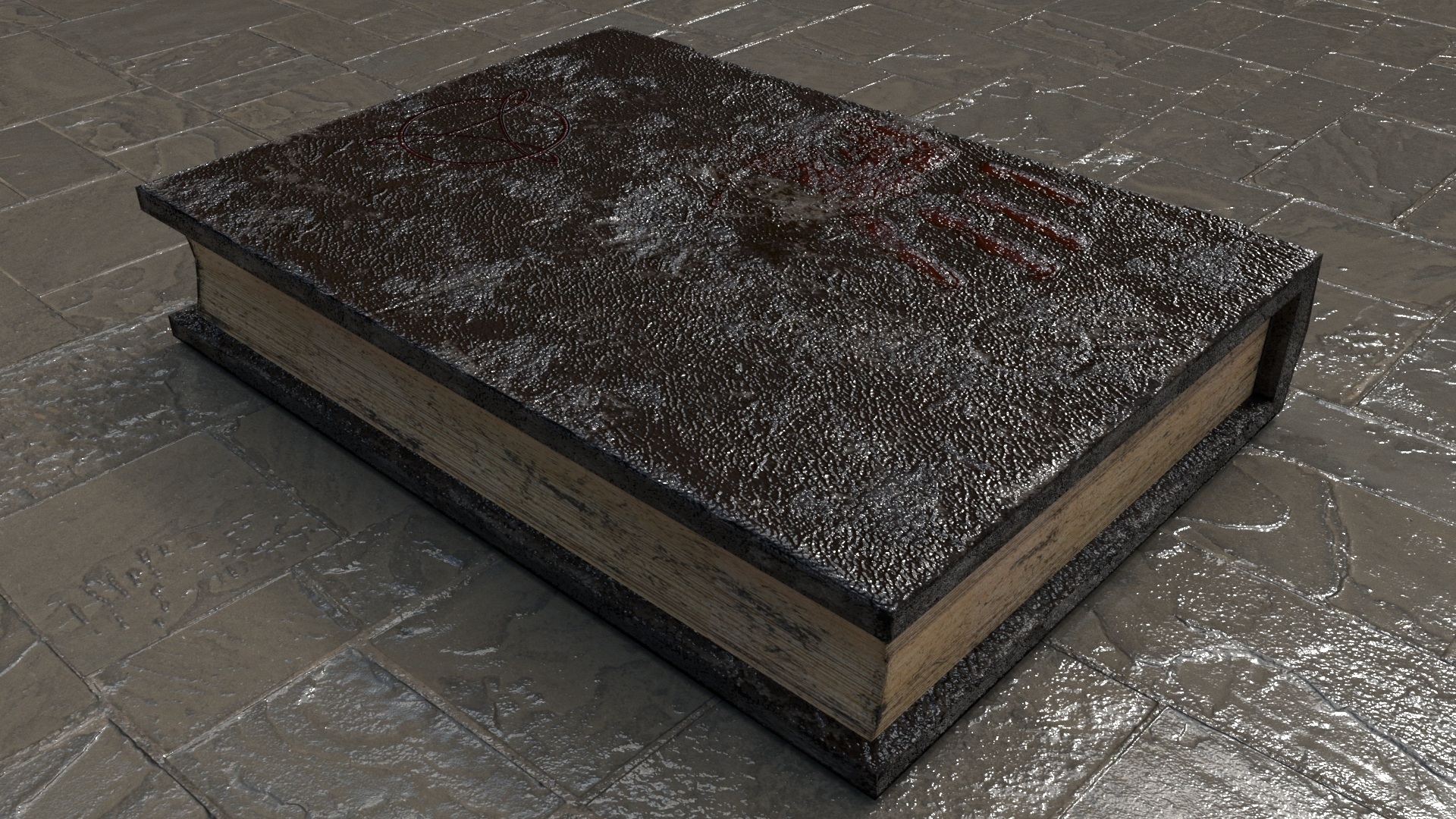 Book 6.jpg Download STL file Old Book • Template to 3D print, Mokun