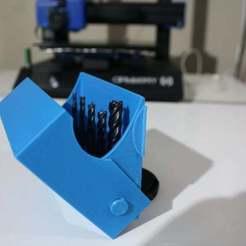 IMG_4478.JPG Download free STL file Simple Drill Bit Box • 3D printer model, Denamec
