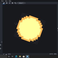 Download free OBJ file Pizza for minecraft • 3D print template, heagan